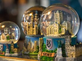 sneeuwbollen van Gent