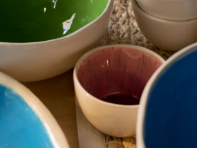 handgemaakte keramieken schalen
