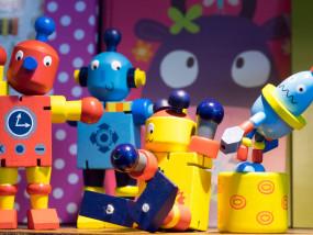 speelgoed, robots